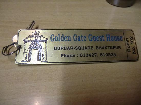 Golden Gate Guest House : 房门钥匙