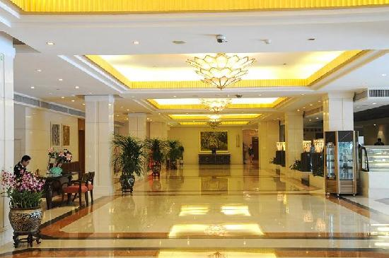 Golden Sea View Hotel: 酒店大堂