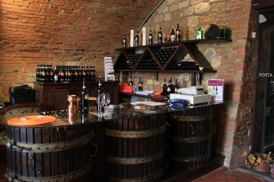 Cantina de' Ricci: 吧台