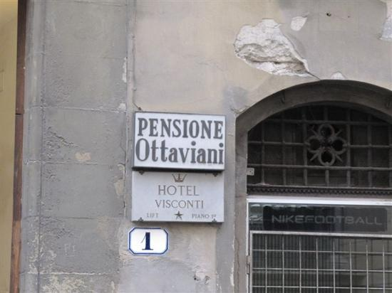 Hotel Ottaviani: 标牌