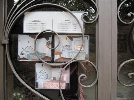 Hotel Vecchia Oliviera: 广告