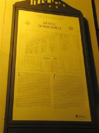 Borromeo Hotel: 介绍