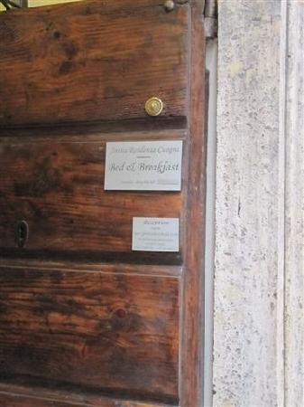 Antica Residenza Cicogna: 门