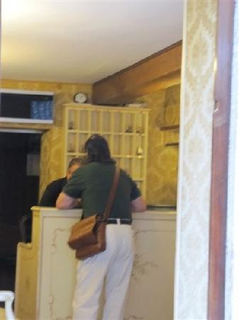 Hotel Al Vagon: 前台