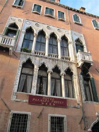 Palazzo Priuli: 外面