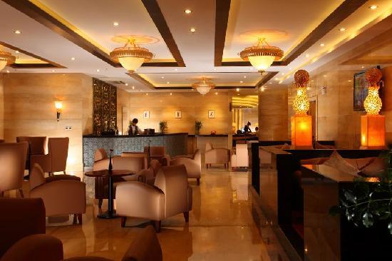 Puxi New Century Hotel Shanghai: 大堂吧