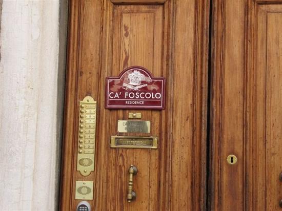 Residence Ca' Foscolo: 门