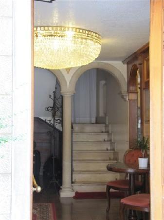 Hotel Guerrini : 楼梯