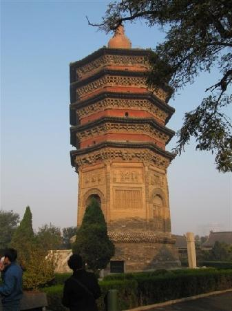Wenfeng Tower of Anyang: 塔
