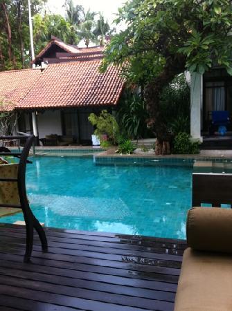 Amy Village Garden Resort: 池景房