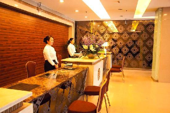 Biway City Inn Puyang Jianshe Road: 前台