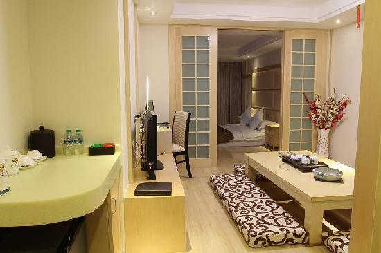 Haomen Hotel: 特色韩式套房