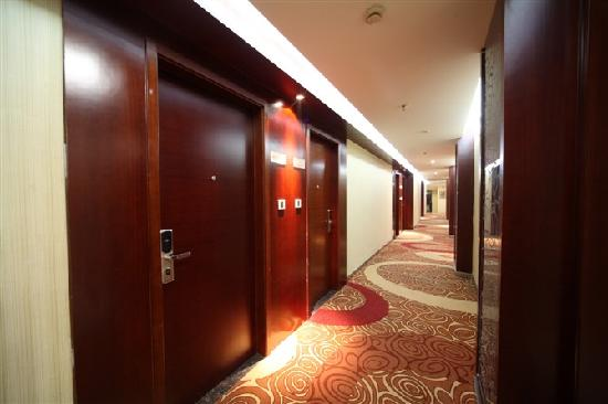 Yuanshun Business Hotel: 酒店走廊