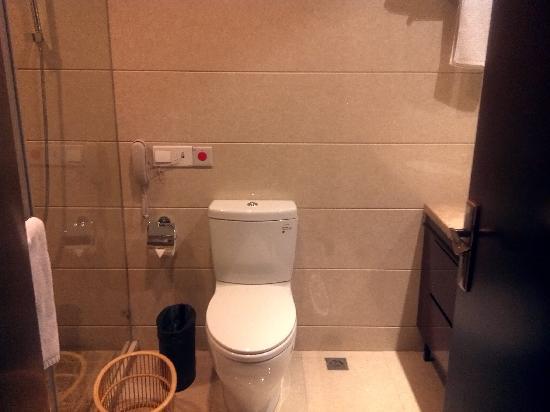 Shidai Haojue Hotel: 洗手间