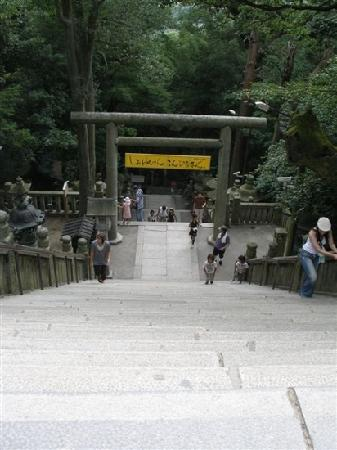 Konpira Shrine: 路
