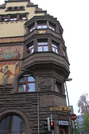 Hotel Restaurant Graf Zeppelin: 建筑
