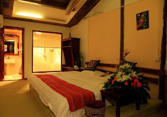 Menghui Lijiang Inn: 楼上大床