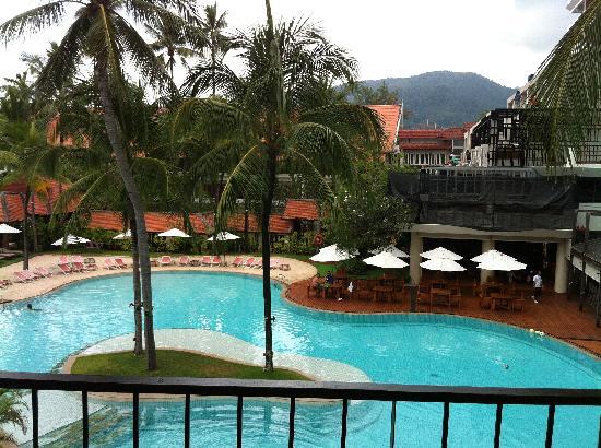 Patong Beach Hotel: 阳台美景