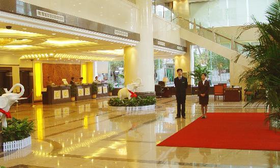 Yilite Hotel: 酒店大堂