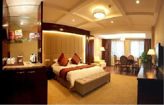 Shengqi Mingting Hotel : 豪华休闲大床房