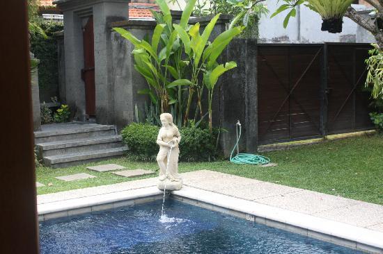 Villa Kecapi Bali: 门口