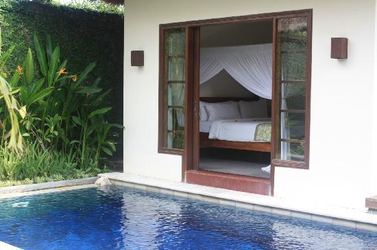 Villa Kecapi Bali: 卧房