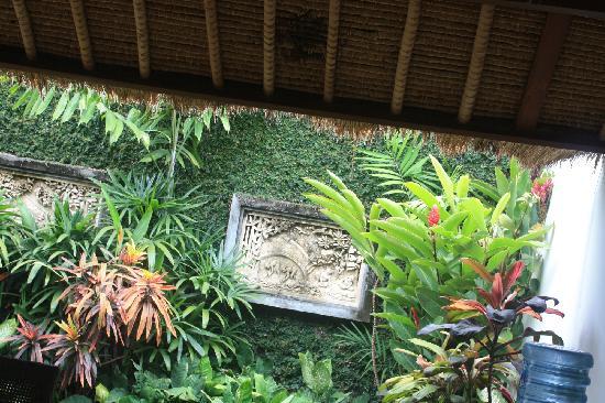 Villa Kecapi Bali: 餐厅花园