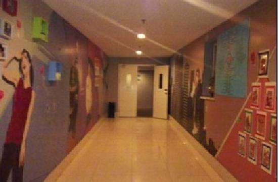 Bestay Hotel Express Xi'an Jiefanglu: 走廊