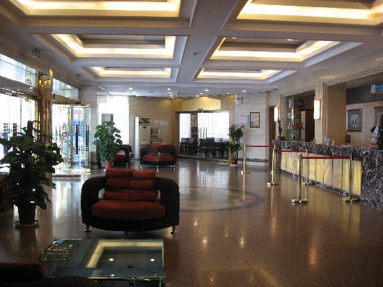 Jinjiang Inn Wuxi Xueqian Road: 酒店大厅