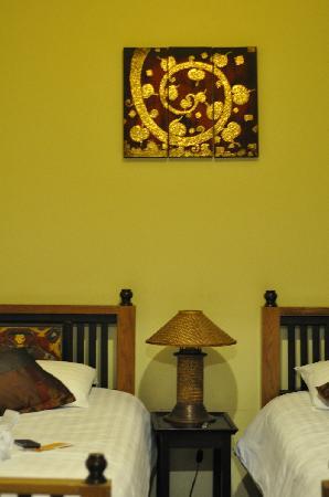 บ้าน ฮานิบะ เบด แอนด์ เบรคฟาสต์: 卧室