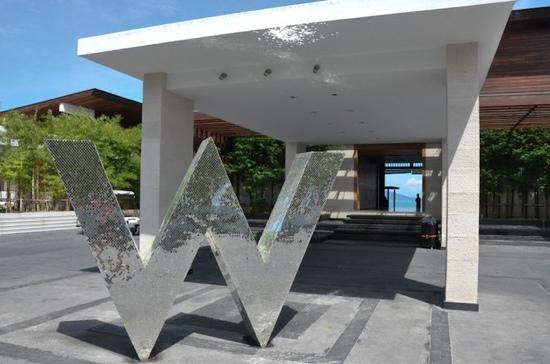 W Retreat Koh Samui: 门口