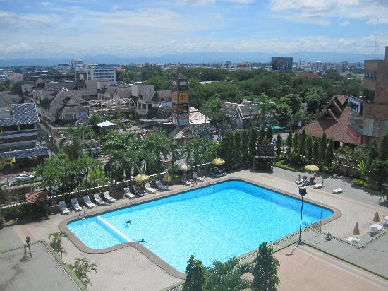 Chiang Mai Orchid Hotel: 酒店观景