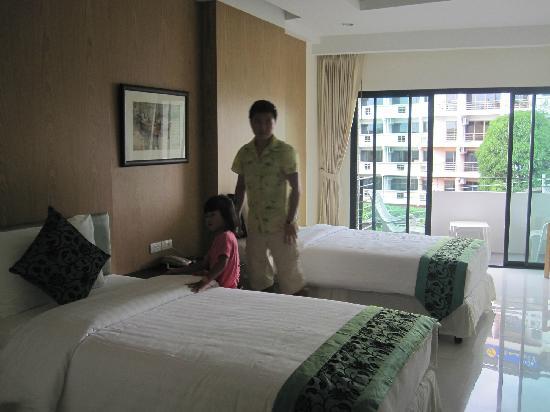 My Place @ Hua-Hin Hotel: 房间