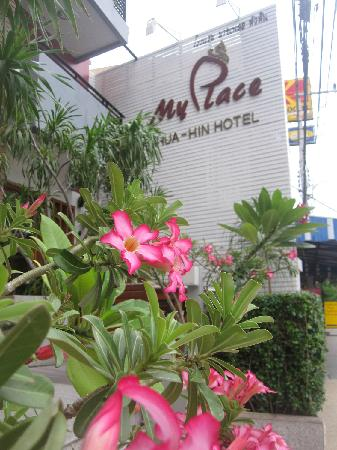 My Place @ Hua-Hin Hotel: 门口景观
