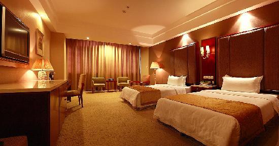 Hanshou County, Китай: 酒店标准双人房