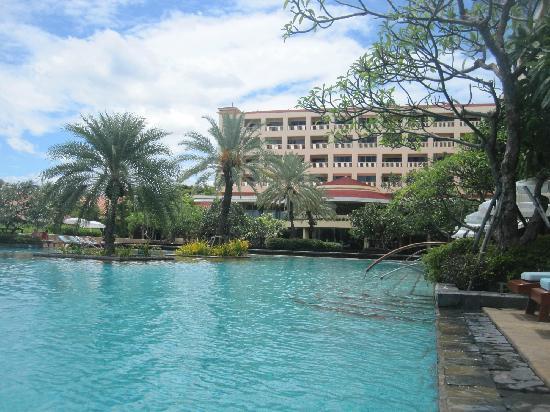 โรงแรมดุสิตธานี หัวหิน: 园景