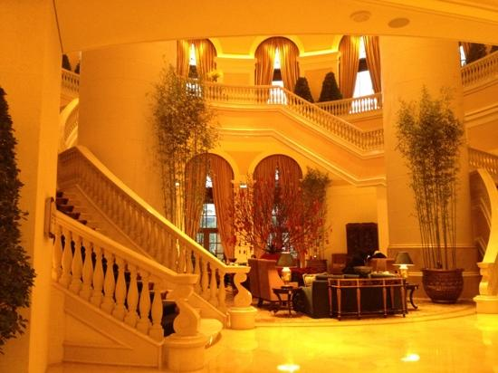 Four Seasons Hotel Macau, Cotai Strip: 四季酒店大堂