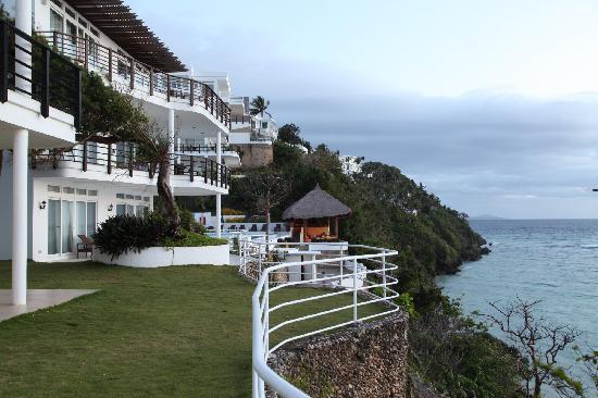 Cohiba Villas: 酒店景观