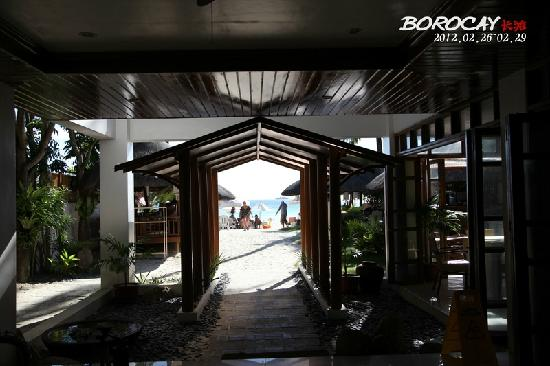 Sur Beach Resort: 酒店景观