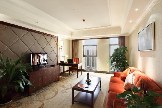 Changshu World Trade International Hotel: 套房