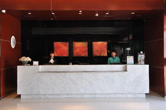 Jinjiang Inn Tiantai New City Transportatio Center): 锦江之星天台店总台