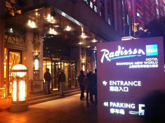 Radisson Blu Hotel Shanghai New World: radisson