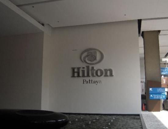 Hilton Pattaya: 门口