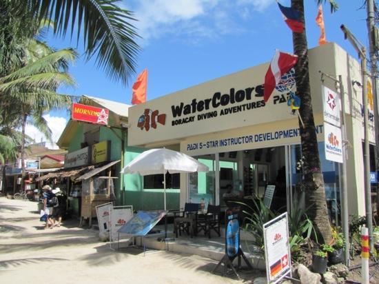 WaterColors Boracay Dive Resort: water
