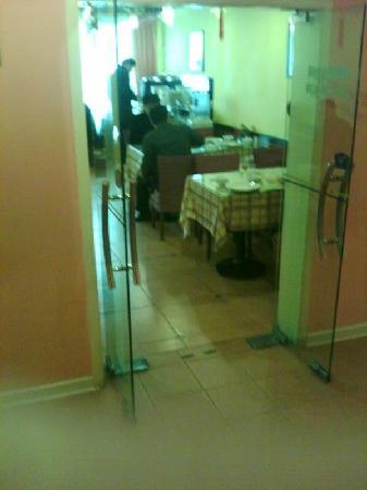 Home Inn (Suzhou Sanxiang) : 小小的餐厅