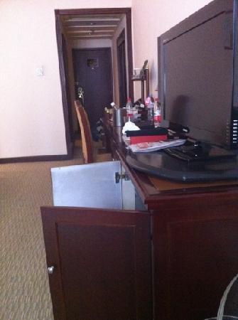 Minshan Hotel: 房间够大