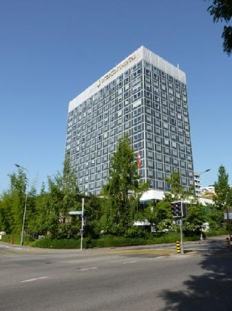 Hotel InterContinental Geneve: 外观