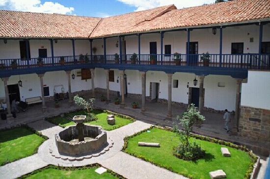 Belmond Palacio Nazarenas: 酒店中庭