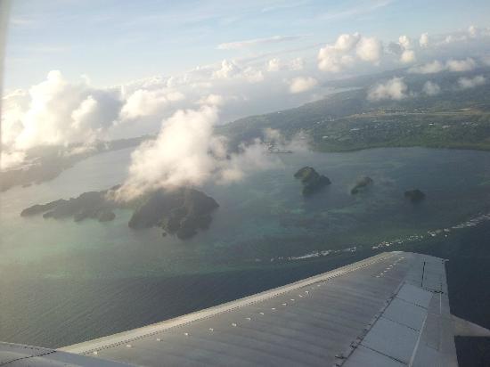 Airai Water Paradise Hotel & Spa: 帕劳上空