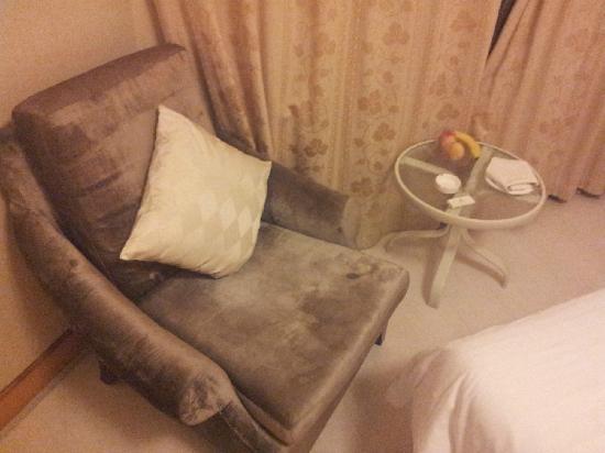 Qingdao Haiqing Hotel: shafa